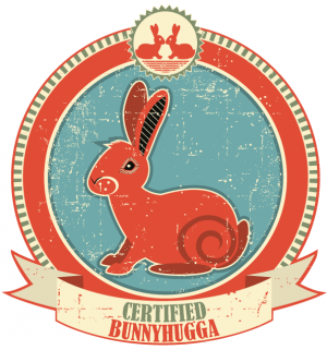image of 10 signs that you're a certified 'Bunnyhugga'